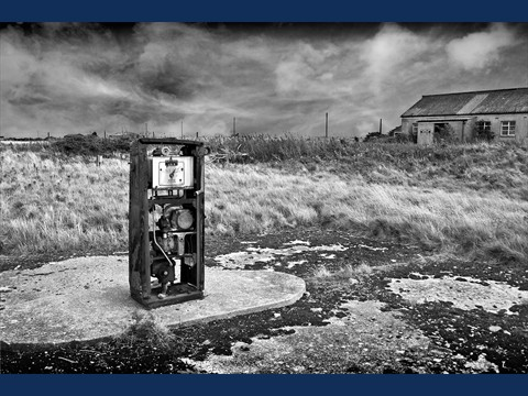 Petrol Pump Orford Ness